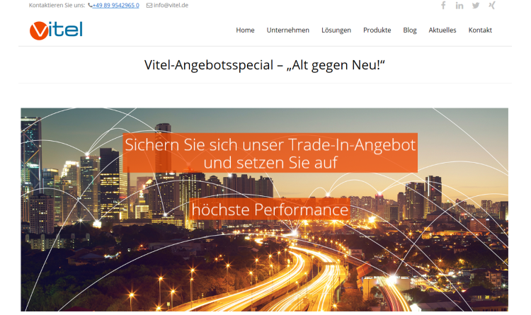 Vitel GmbH startet Router-Trade-In-Aktion