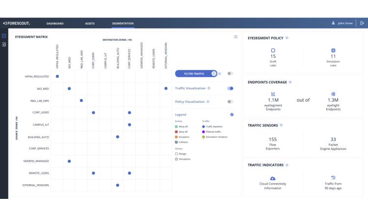 Forescouts neue Cloudlösung eyeSegment transformiert die unternehmensweite Netzwerksegmentierung