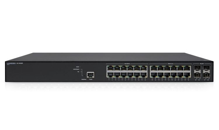 LANCOM GS-3528XP: Neuer Multi-Gigabit Access-Switch mit optionalem Cloud-Management