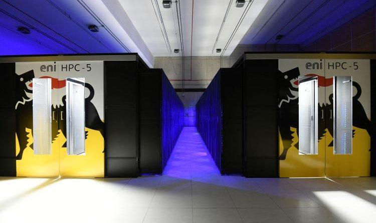 Eni startet den weltweit schnellsten industriellen Supercomputer