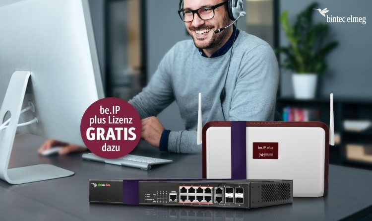 bintec elmeg: be.IP plus VoIP Bundle Aktion für Fachhandelspartner