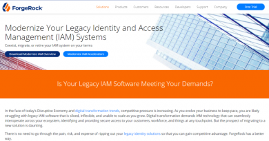 ForgeRock vereinfacht den Migrationsprozess von Legacy-Produkten zu einer modernen Identitätslösung