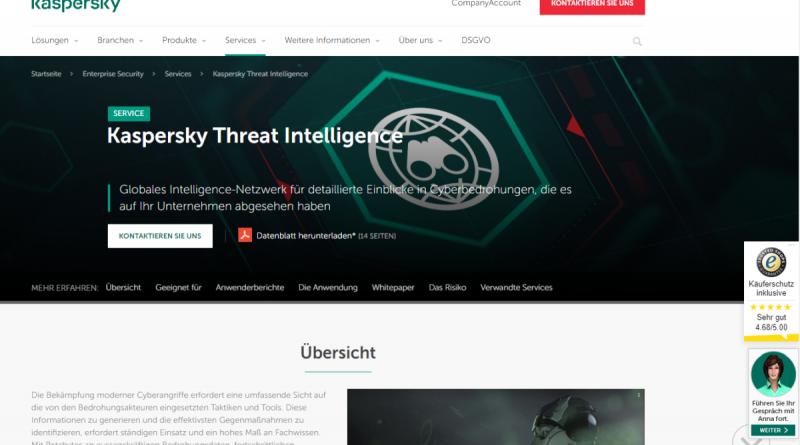 Neuer Service von Kaspersky mit Echtzeit-Warnungen