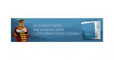 Kostenloses White Paper: Auswahl einer Client-Management-Lösung