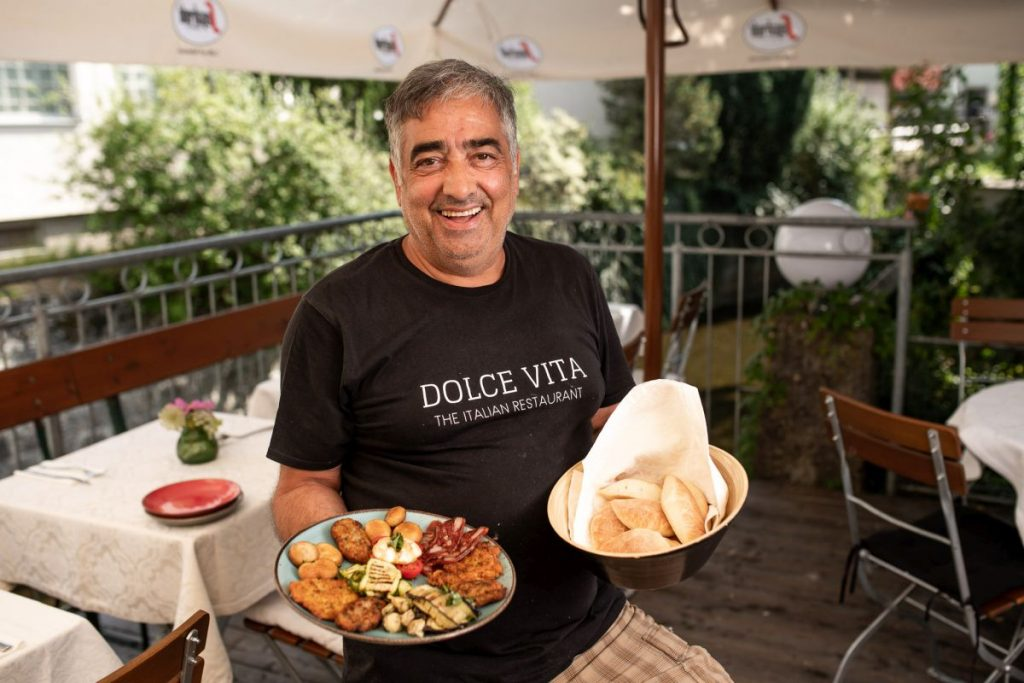 Francesco Coniglio, Chef im Dolca Vita