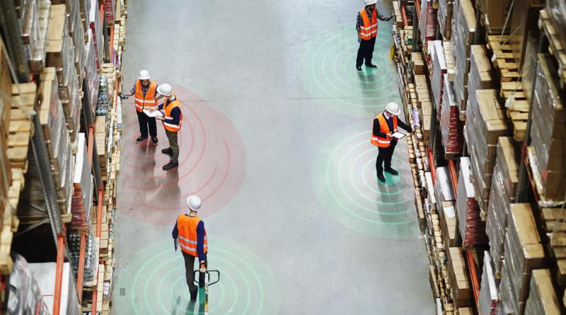 ProGlove stellt mit neuen Social Distancing-Sensoren jetzt den Abstand zwischen Personen am Arbeitsplatz sicher