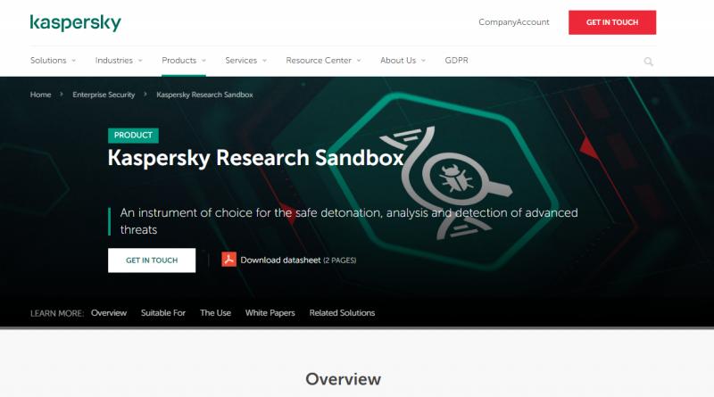 Sandbox gegen komplexe Angriffe