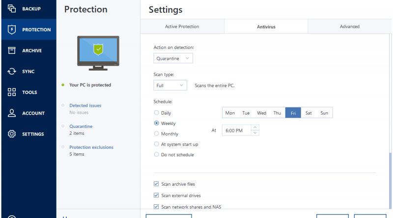 Mit True Image 2021 erweitert Acronis seine Backup-Lösung um Malware-Protection-Funktionen