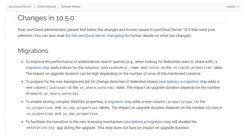 Neue Version von ownCloud steht bereit