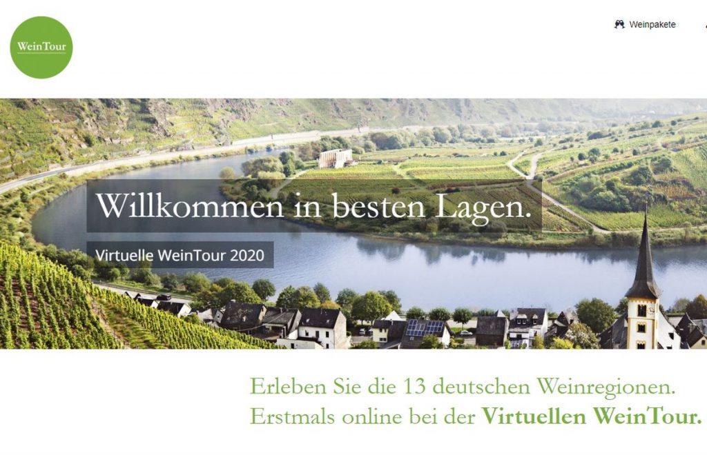 Die Virtuelle.WeinTour - Deutsches Weininstitut - Screenshot Sysbus