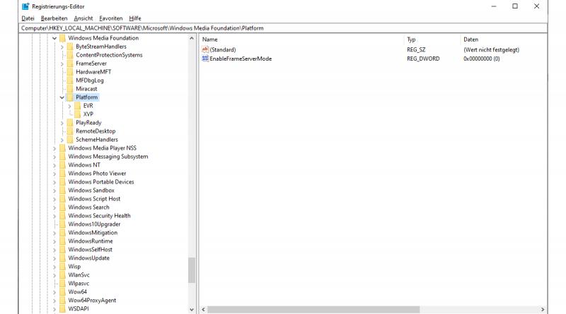 Webcam funktioniert nicht mit Microsoft Teams