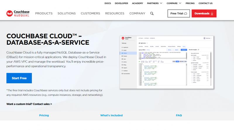 Couchbase bringt kostenlose Self Service Testversion