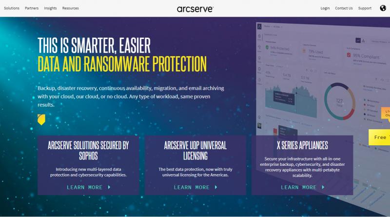 Neue Preis- und Lizensierungsmodelle und Partnerpromotion von Arcserve