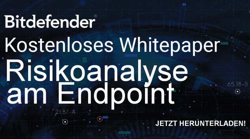 Kostenloses Whitepaper: Risikoanalyse am Endpoint