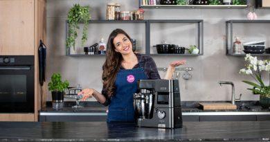 Kenwoods neue Cooking Chef XL in der exklusiven Sally-Edition in trendigem Schwarz.