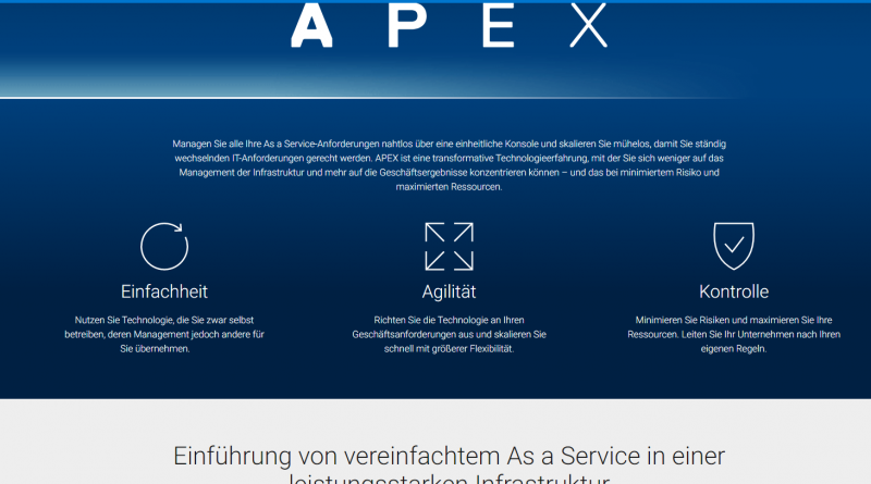 "Dell mit As-a-Service-Angebot ""APEX"""