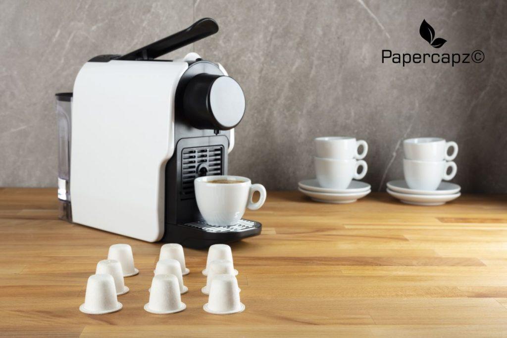 Zellulose Kaffeekapseln von Papercapz - Foto: Sustina Caps