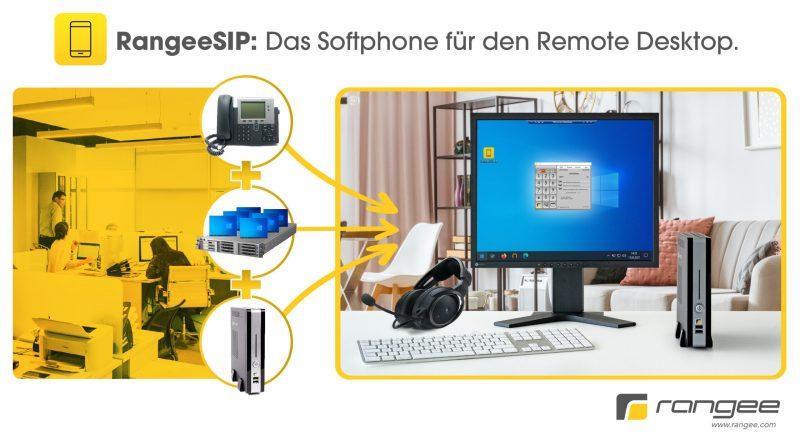 Neues SIP-Softphone, das auf Rangee-Thin Clients läuft
