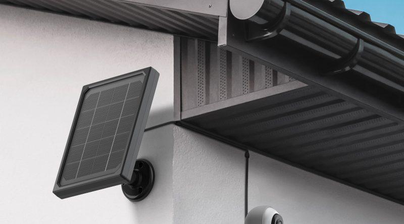 Außenkamera mit Solarstrom