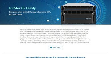 Infortrend bietet EonStor GS mit einem SSD-Cache