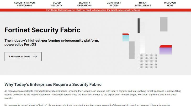 Fortinet erweitert Security Fabric