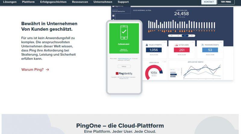 Ping Identity bringt Personal-Identity-Lösung, mit der die Anwender ihre privaten Daten kontrollieren