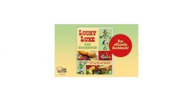 """""""Lucky Luke Das Kochbuch - Rezepte und Geschichten aus dem Wilden Westen"""" aus dem Egmont Verlag"""
