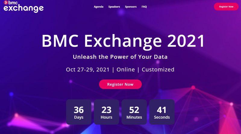 BMC Virtual Exchange 2021 findet vom 27. bis 29. Oktober statt