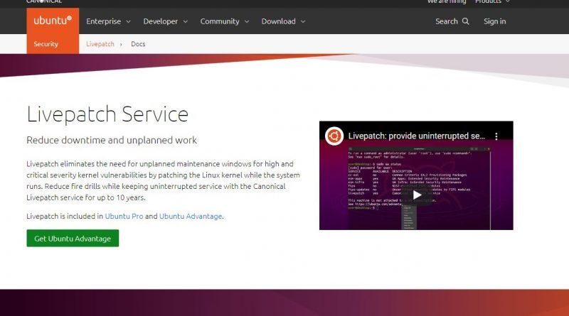 """Weniger Ausfallzeiten dank """"Ubuntu Livepatch on-prem"""""""