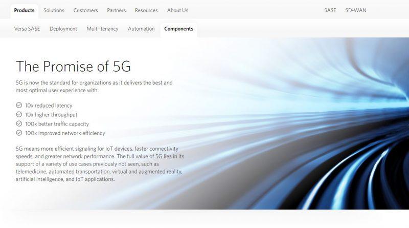 5G-WAN-Edge-Lösungen von Versa Networks
